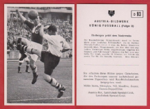 "Germany ""B"" v Bolton Wanderers Tommy Banks England D93"